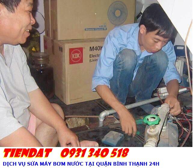Dịch vụ sửa máy bơm nước tại nhà quận bình thạnh