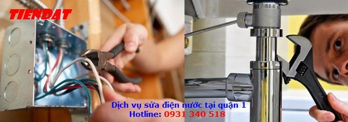 Dịch vụ sửa điện nước tại quận 1