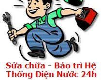 Thợ sửa điện nước tại nhà quận Bình Thạnh, DỊCH VỤ SỬA ĐIỆN NƯỚC 24H. Thợ sửa điện nước chuyên nghiệp, sửa đường điện. Sửa máy bơm nước, ống nước, sửa 24/24