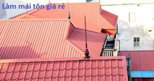 Thợ làm mái tôn tại quận 6, làm mái tôn giá rẻ. Chúng tôi cung cấp tới khách hàng dịch vụ làm mái tôn uy tín, thi công làm mái tôn vòm, làm mái tôn giả ngói. Thay thế lắp đặt mái tôn chống nóng, lắp đặt mái tôn cách nhiệt. Làm mái tôn truyền thống, làm mái tôn inox, mái tôn olympic. Lắp đặt mái tôn che chắn cửa sổ, mái tôn chống nóng nhà xưởng. Đội thợ thi công làm mái tôn ở tại quận 6 rất giỏi, làm việc chu đáo, thi công tỉ mỉ. Luôn đáp ứng được những nhu cầu của khách hàng. Lợp mái tôn giá rẻ, thi công làm mái tôn chất lượng.