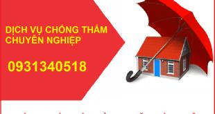 Dịch vụ chống thấm tại quận Gò Vấp, thợ chống thấm nhà chuyên nghiệp tại quận Gò Vấp